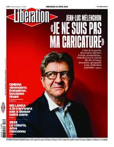 Libération - 24 avril 2019