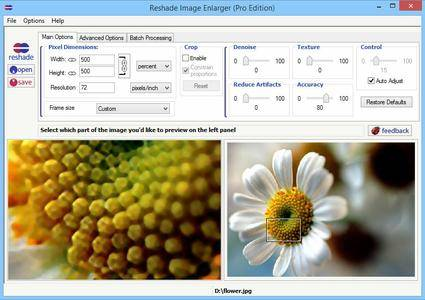 Reshade Image Enlarger Pro 3.0 Portable