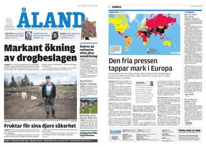 Ålandstidningen – 26 april 2018