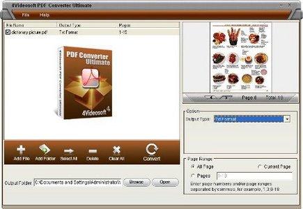 4Videosoft PDF Converter Ultimate 3.0.22
