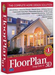 FloorPlan 3D Design Suite 10.1