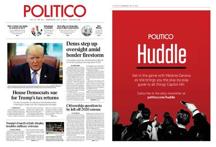 Politico – July 03, 2019