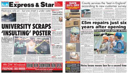 Express and Star City Edition – July 25, 2018