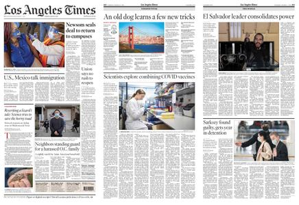 Los Angeles Times – March 02, 2021
