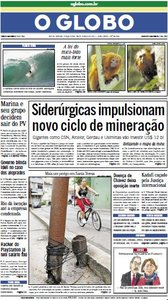 Jornal O Globo - 28 de junho de 2011