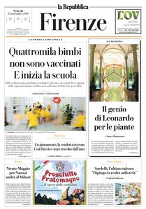 la Repubblica Firenze - 13 Settembre 2019