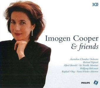 Imogen Cooper & Friends - Mozart, Schubert, Schumann, Rachmaninov, Brahms, Beethoven, Wolf (2004) 3CD