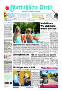 Oberhessische Presse Hinterland - 16. August 2018