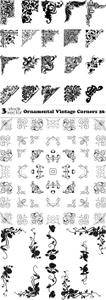 Vectors - Ornamental Vintage Corners 26