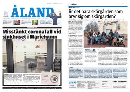 Ålandstidningen – 28 februari 2020