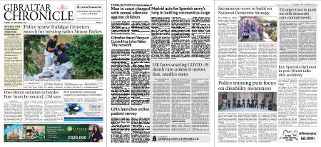 Gibraltar Chronicle – 22 September 2020