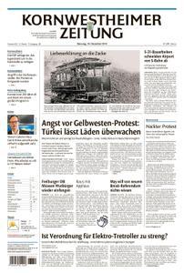 Kornwestheimer Zeitung - 18. Dezember 2018