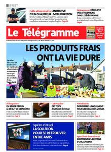 Le Télégramme Brest Abers Iroise – 23 mars 2020