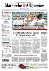 Märkische Allgemeine Fläming Echo - 07. Juli 2018