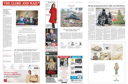 The Globe and Mail – December 26, 2019