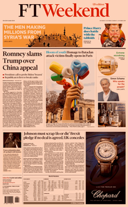 Financial Times USA – 05/06 October 2019