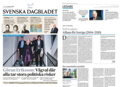 Svenska Dagbladet – 12 januari 2019