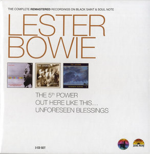Lester Bowie - The Complete Remastered Recordings On Black Saint & Soul Note (2010) {3CD Set Cam London BXS 1006 rec 1978-1988}