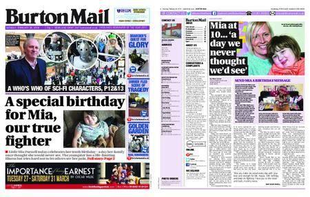 Burton Mail – February 26, 2018