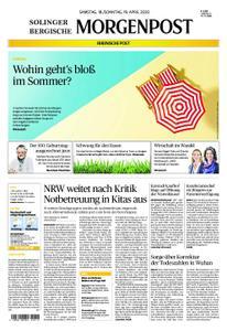 Solinger Morgenpost – 18. April 2020