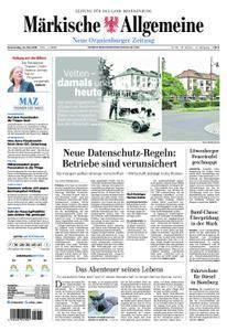 Neue Oranienburger Zeitung - 24. Mai 2018