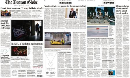 The Boston Globe – February 07, 2020