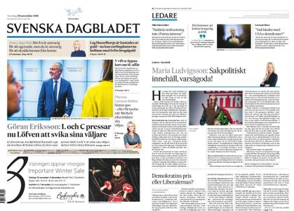 Svenska Dagbladet – 29 november 2018