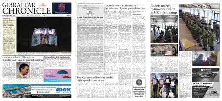 Gibraltar Chronicle – 30 April 2019