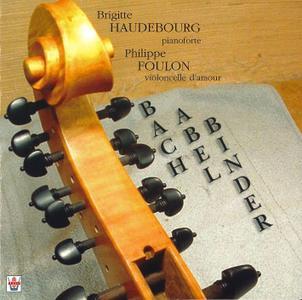 Brigitte Haudebourg, Philippe Foulon - J.C.F. Bach, Abel, Binder: Sonatas (2004)