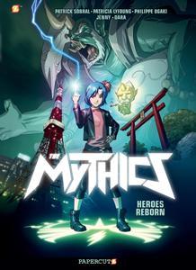 Mythics 01-Heroes Reborn Papercutz 2020 digital widget
