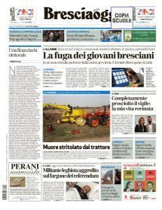 Brescia Oggi - 18 Ottobre 2017
