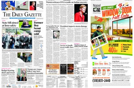 The Daily Gazette – October 16, 2018