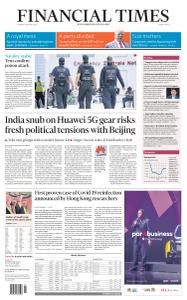 Financial Times Middle East - August 25, 2020
