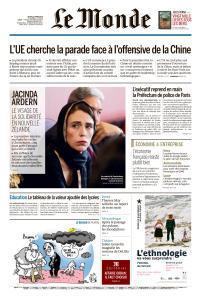 Le Monde du Jeudi 21 Mars 2019