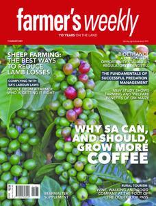 Farmer's Weekly - 13 August 2021