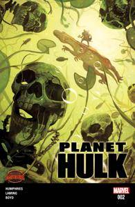 Planet Hulk 002 2015 2 covers digital