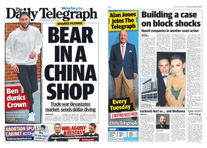 The Daily Telegraph (Sydney) – August 07, 2019