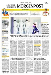 Solinger Morgenpost – 20. April 2020