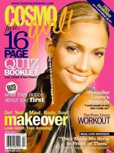 Cosmo Girl Magazine April 2005