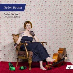Noémi Boutin - Britten Cello Suites (2017)