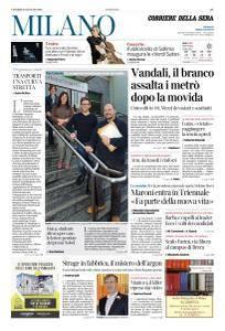 Corriere della Sera Milano - 19 Gennaio 2018