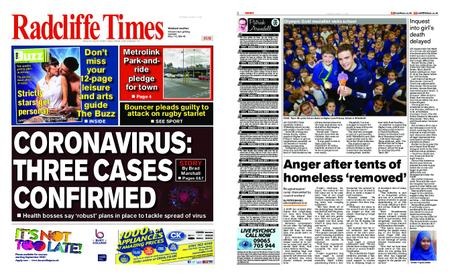 Radcliffe Times – March 05, 2020