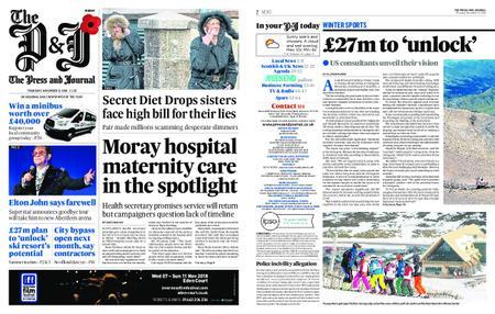 The Press and Journal Moray – November 08, 2018