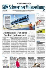Schweriner Volkszeitung Hagenower Kreisblatt - 26. September 2018