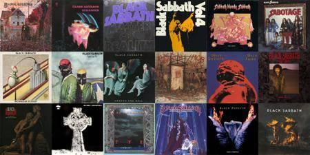 Black Sabbath: Collection (1970 - 2013) [Vinyl Rip 16/44 & mp3-320]