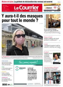 Le Courrier de l'Ouest Cholet – 22 avril 2020