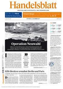 Handelsblatt - 22. November 2017