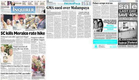 Philippine Daily Inquirer – June 16, 2004