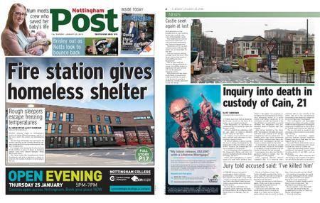 Nottingham Post – January 23, 2018