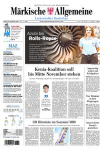 Märkische Allgemeine Luckenwalder Rundschau - 23. September 2019